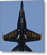 Blue Angel F/a-18 Metal Print