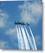 Blue Angels 3 Metal Print