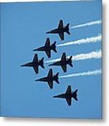 Blue Angels 4 Metal Print