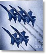 Blue Angels Fa 18 V19 Metal Print