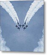 Blue Angels Love Metal Print