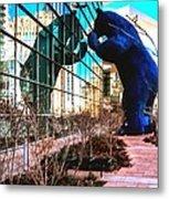 Blue Bear Convention Center 5214 Metal Print