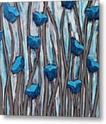 Blue Bells Metal Print