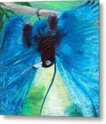 Blue Bird Of Paradise Metal Print