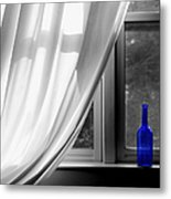 Blue Bottle Metal Print by Diane Diederich