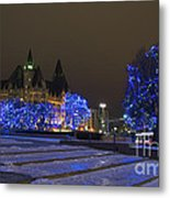 Blue Christmas.. Metal Print