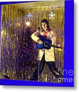 Blue Christmas Without Elvis Metal Print