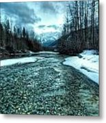 Blue Creek Metal Print