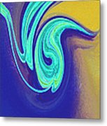 Blue Dance By Jrr Metal Print