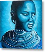 Blue Day Metal Print