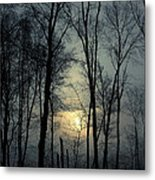 Blue Daybreak Metal Print