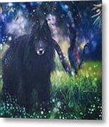 Belgian Sheepdog Art Metal Print