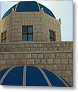 Blue Domes Metal Print
