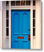 Blue Door 19 Metal Print