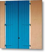 Blue Door In New Orleans Metal Print
