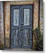 Blue Doors Metal Print