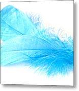 Blue Doubles Metal Print