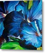 Blue Fairies  Metal Print