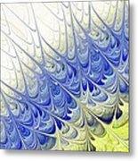 Blue Folium Metal Print