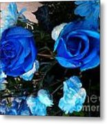 Blue For Hims Metal Print