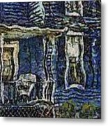 Blue Front Porch Photo Art 04 Metal Print