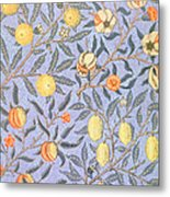 Blue Fruit Metal Print