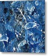 Blue Garden Metal Print