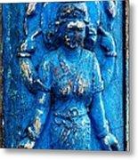 Blue Goddess Metal Print
