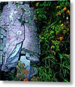 Blue Granite Metal Print by Ric Soulen