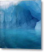 Blue Grotto Metal Print by Ginny Barklow