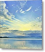 Blue Heaven Metal Print by Suradej Chuephanich