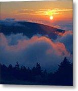 Blue Hill Sunset - Acadia Metal Print