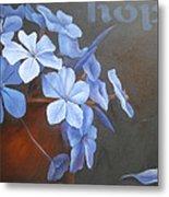 Blue Hope Metal Print