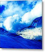 Blue Hudson Metal Print by motography aka Phil Clark