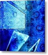Blue   II Metal Print