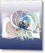 Blue Is The Colour Of My Love II Metal Print