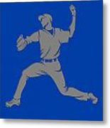 Blue Jays Shadow Player1 Metal Print