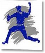 Blue Jays Shadow Player2 Metal Print