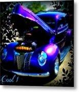 Blue Jewel Art Metal Print