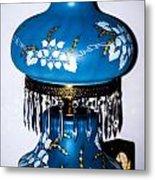 Blue Lamp Metal Print