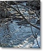 Blue Light Metal Print