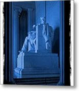 Blue Lincoln Metal Print