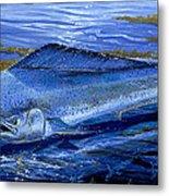 Blue Mahi Off0071 Metal Print