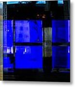 Blue Man Group Metal Print