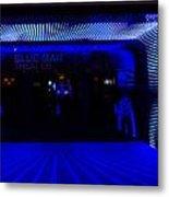 Blue Man Group Theater Metal Print