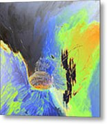 Blue Mars Metal Print