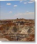 Blue Mesa - Painted Desert Metal Print