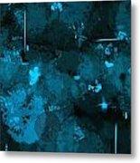 Blue Monday Metal Print