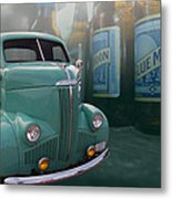 Blue Moon Stoody Metal Print