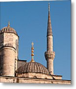 Blue Mosque 02 Metal Print